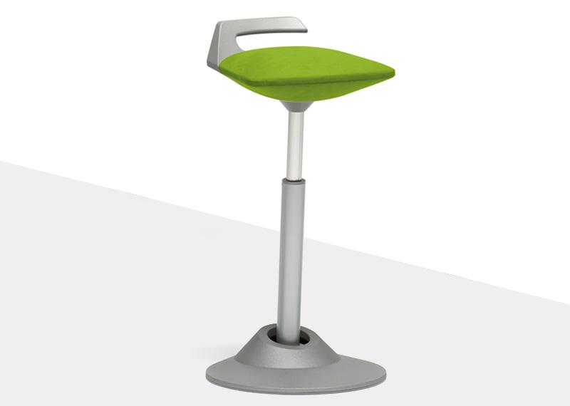 Steh Sitz Hocker Muvman grün